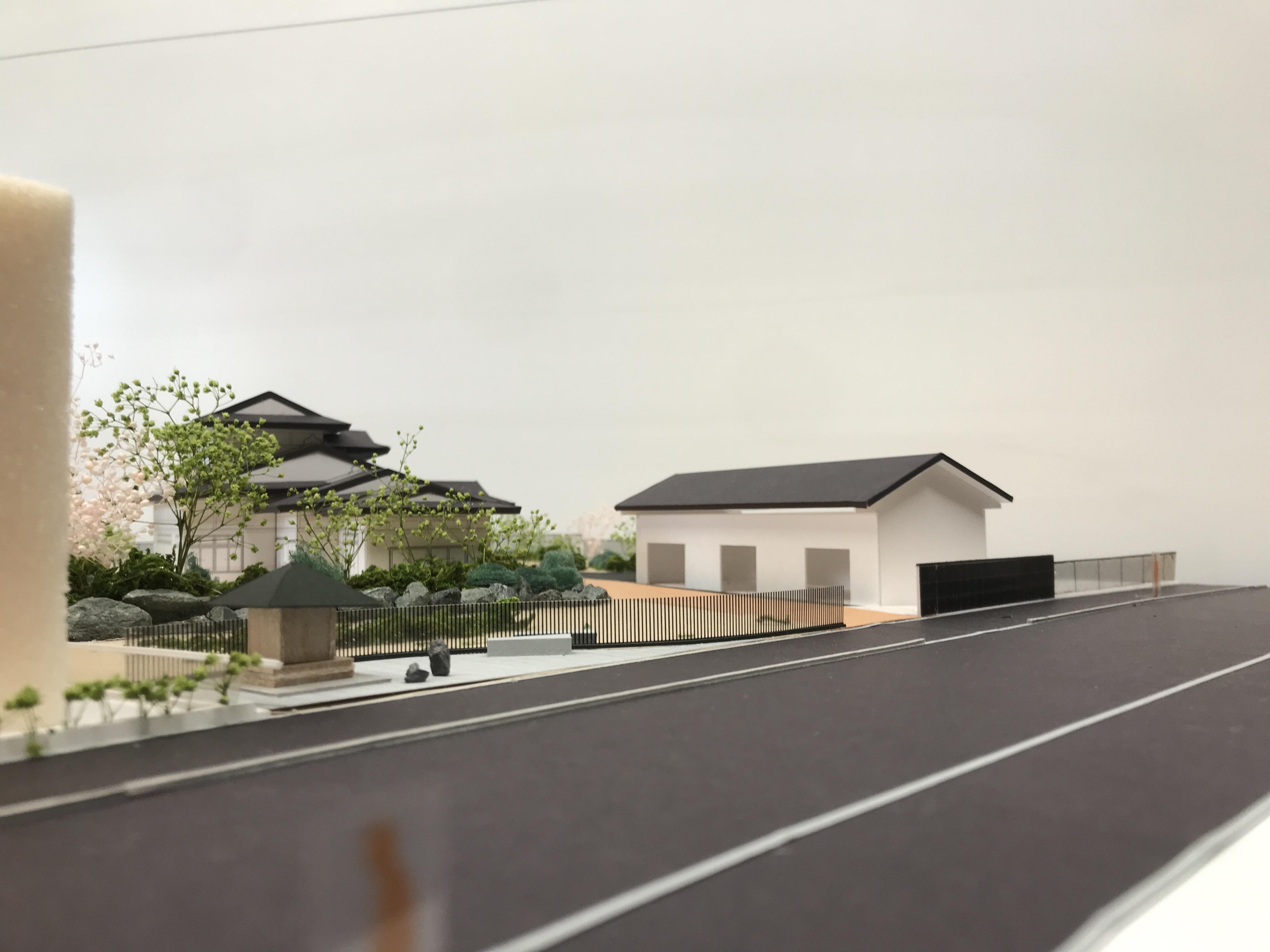 富沢 塀 外構計画