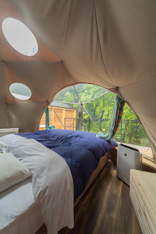 シマブルー 宿泊施設 おんせんキャンプ