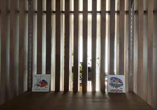NKK-PRODUCT 細工格子間仕切り壁