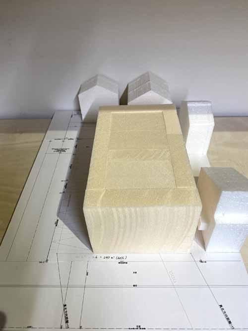 集合住宅 模型