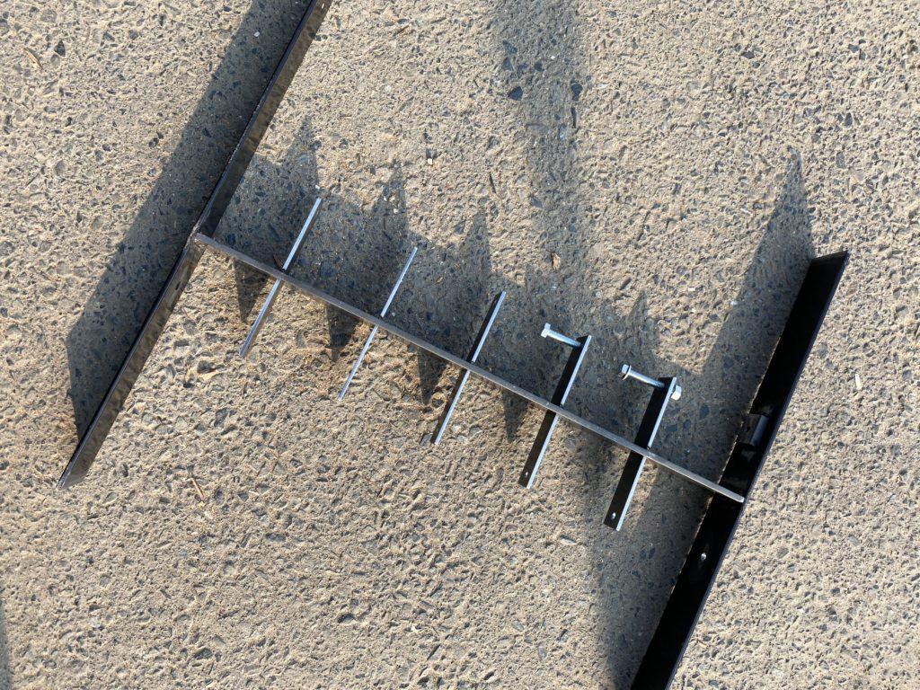 モックアップ 塀のフレーム