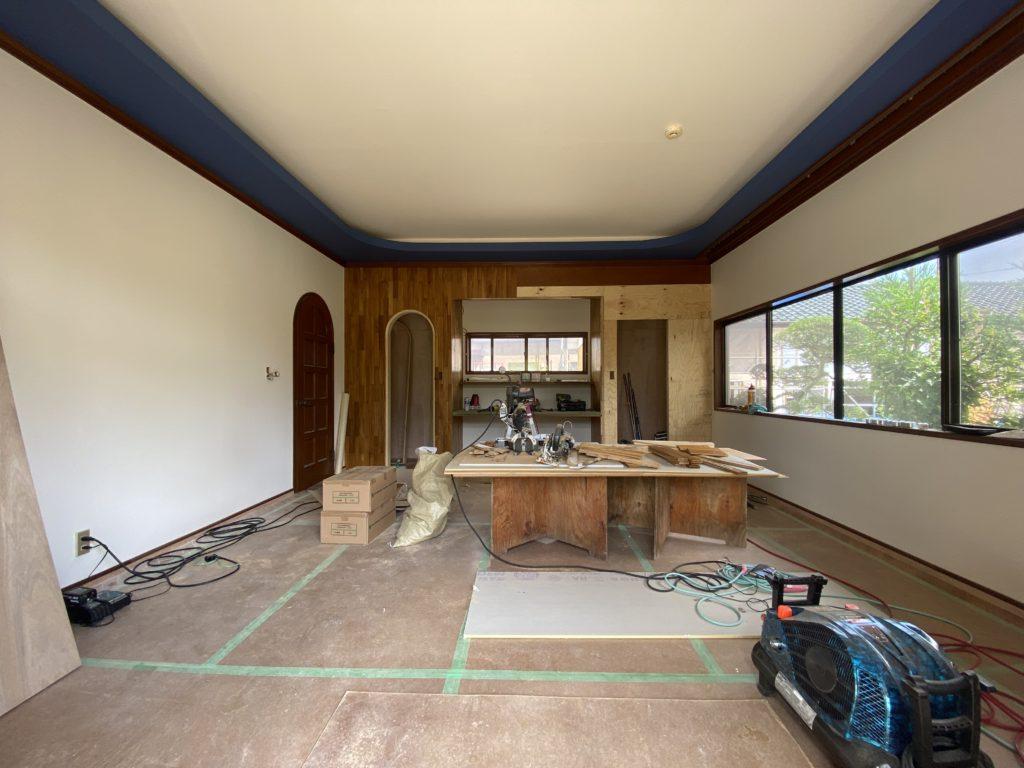 洋室の改修