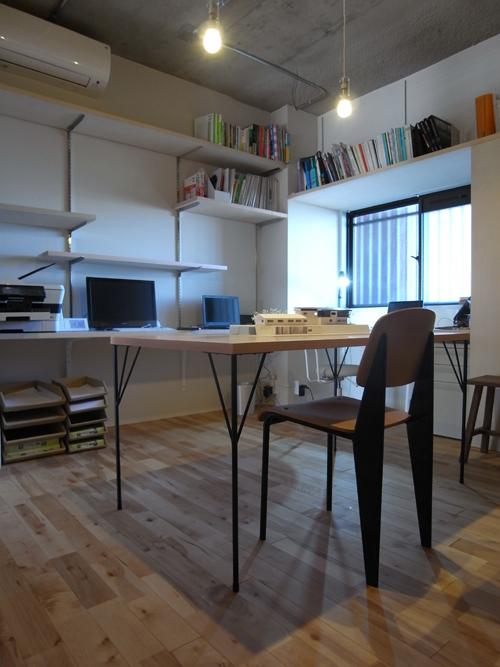 トコツク建築設計事務所 事務所の様子